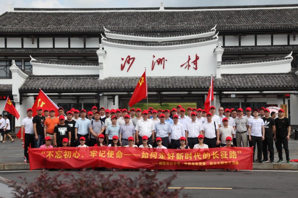 合乐888光电公司党委联合郴投集团党委开展···